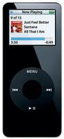 Apple iPod nano 1G 1GB zwart