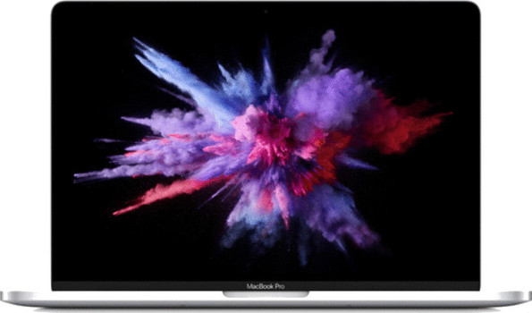 Apple MacBook Pro 13.3 (retina-display) 2.3 GHz Intel Core i5 8 GB RAM 128 GB PCIe SSD [Mid 2017, QWERTY-toetsenbord] zilver