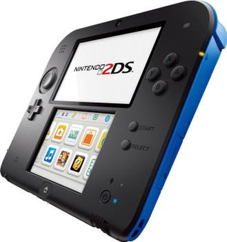 Nintendo 2DS negro azul
