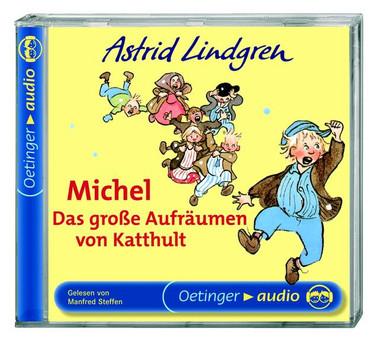 Michel. Das große Aufräumen von Katthult. CD: Lesung