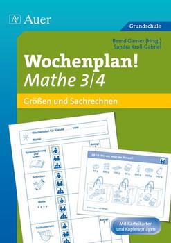 Wochenplan! Mathe 3/4: Materialien zur Individualisierung (3. und 4. Klasse) - Kroll-Gabriel, Sandra