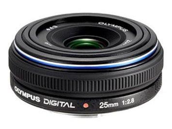 Olympus Zuiko Digital 25 mm F2.8 43 mm Objectif (adapté à Four Thirds) noir