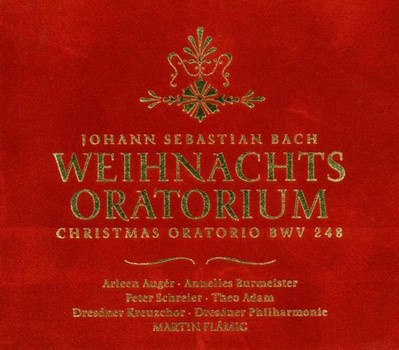 Dresdner Kreuzchor & Dresdner Philharmonie - Martin Flämig: Johann Sebastian Bach - Weihnachts-Oratorium [3 CDs]