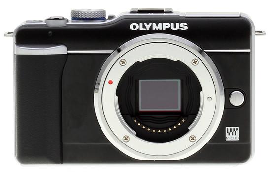 Olympus E-PL1 zwart