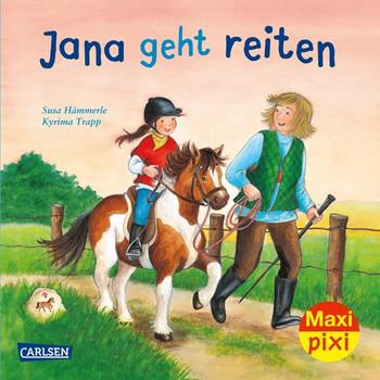 Maxi Pixi 277: Jana geht reiten - Susa Hämmerle  [Taschenbuch]