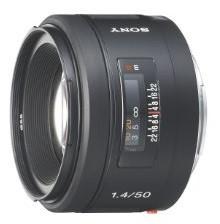 Sony 50 mm F1.4 55 mm filter (geschikt voor Sony A-mount) zwart
