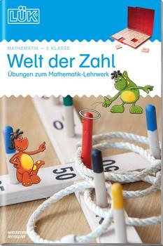 LÜK: Welt der Zahl - Übungen zum Mathematik-Lehrwerk - 3. Klasse - Heinz Vogel [Broschiert]