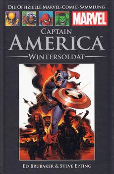 Die offizielle Marvel-Comic-Sammlung 44: Captain America - Wintersoldat - Ed Brubaker [Gebundene Ausgabe]