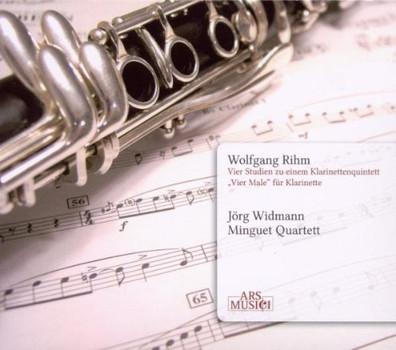 J. Widmann - Vier Studien zu Einem Klarinettenquintett