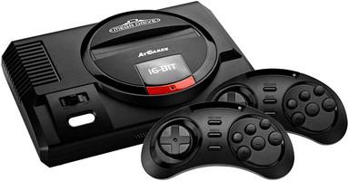 AtGames Sega Mega Drive Flashback HD zwart