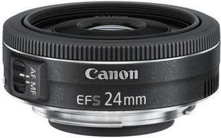 Canon EF-S 24 mm F2.8 STM 52 mm filter  (geschikt voor Canon EF-S) zwart