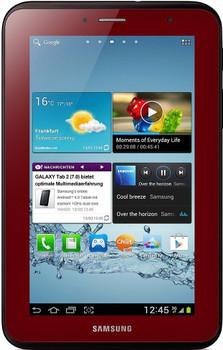 "Samsung Galaxy Tab 2 7.0 7"" 8GB [wifi] donkerrood"