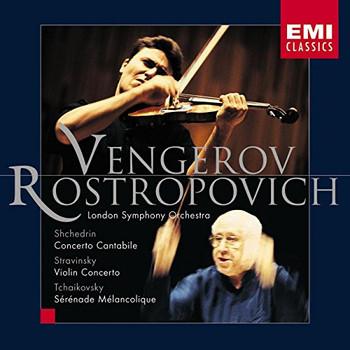 Rostropowitsch - Violinkonzert / Serenade Melancolique
