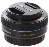 Samsung NX 16 mm F2.4 43 mm Objetivo (Montura Samsung NX) negro