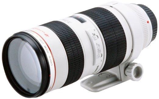 Canon EF 70-200 mm F2.8 L USM 77 mm Obiettivo (compatible con Canon EF) bianco