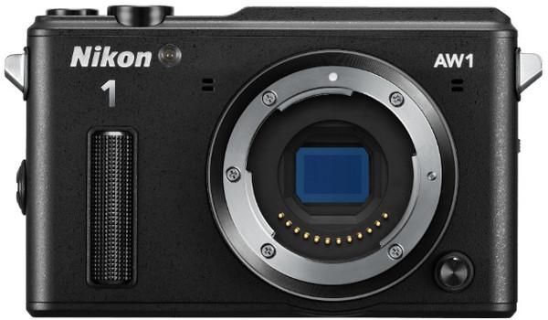 Nikon 1 AW1 zwart