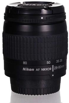 Nikon AF NIKKOR 28-80 mm F3.3-5.6 G 58 mm filter (geschikt voor Nikon F) zwart