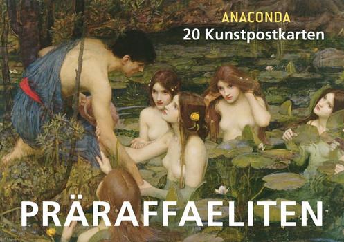 Postkartenbuch Präraffaeliten - Anaconda  [Gebundene Ausgabe]