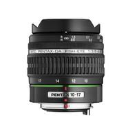 Pentax smc DA 10-17 mm F3.5-4.5 ED IF Fisheye (adapté à Pentax K) noir