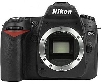 Nikon D90 zwart