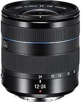 Samsung NX 12-24 mm F4.0-5.6 ED 58 mm Objetivo (Montura Samsung NX) negro