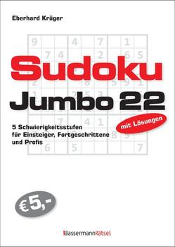 Sudokujumbo 22. 5 Schwierigkeitsstufen - für Einsteiger, Fortgeschrittene und Profis - Eberhard Krüger  [Taschenbuch]
