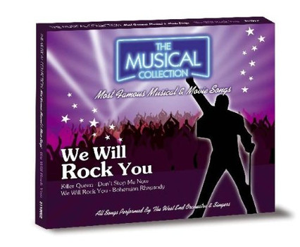 West End Orchestra & Singers - We Will Rock You - The Musical Collection