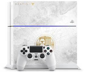 Sony PlayStation 4 500 GB [Destiny Edition inkl. Wireless Controller] weiß