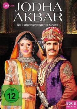 Jodha Akbar - Die Prinzessin und der Mogul [Box 8, Folge 99-112] [3 DVDs]