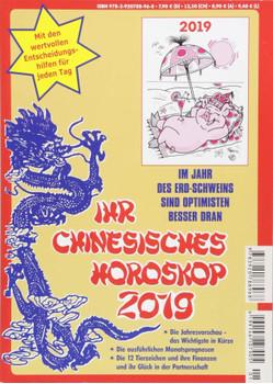 Ihr Chinesisches Horoskop 2019 - Daniela Herzberg [Taschenbuch]