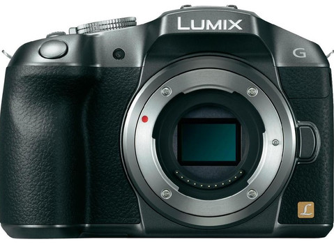 Panasonic Lumix DMC-G6EG-K zilver