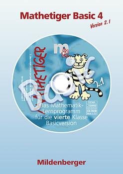 Das Mathebuch - Ausgabe für Bayern: Mathetiger Basic 4 Version 2.0. CD-ROM. Bayern