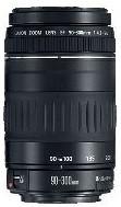 Canon EF 90-300 mm F4.5-5.6 58 mm Objectif (adapté à Canon EF) noir