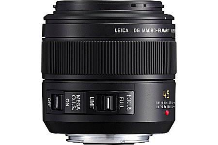 Panasonic Leica DG MACRO Elmarit 45 mm F2.8 ASPH. O.I.S. 46 mm filter (geschikt voor Micro Four Thirds) zwart
