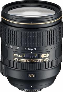 Nikon AF-S NIKKOR 24-120 mm F4.0 ED G VR 77 mm Objectif (adapté à Nikon F) noir