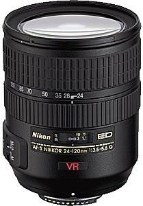 Nikon AF-S NIKKOR 24-120 mm F3.5-5.6 ED G IF VR 72 mm filter (geschikt voor Nikon F) zwart