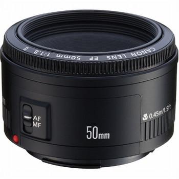 Canon EF 50 mm F1.8 II 52 mm filter (geschikt voor Canon EF) zwart