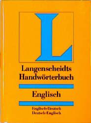 Langenscheidts Handwörterbuch, Englisch - Heinz Messinger
