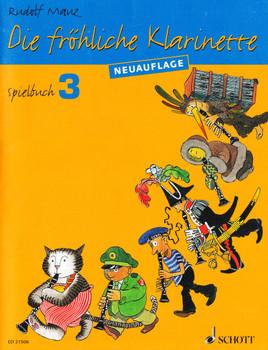 Die fröhliche Klarinette: Spielbuch 3 - für Klarinette und Klavier sowie für 2-4 Klarinetten / Klavierstimme zum Spielbuch 3 - Rudolf Mauz [2 Hefte, Broschiert]