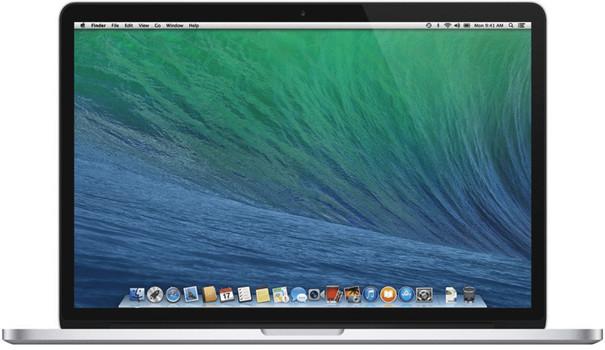"Apple MacBook Pro 13.3"" (retina-display) 2.6 GHz Intel Core i5 8 GB RAM 128 GB PCIe SSD [Mid 2014, QWERTY-toetsenbord]"