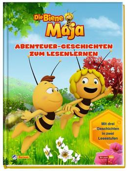 Biene Maja: Abenteuer-Geschichten zum Lesenlerne [Gebundene Ausgabe]