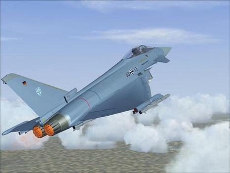 FSX AddOn: Eurofighter Typhoon