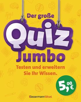 Der große Quiz-Jumbo - Eberhard Krüger  [Gebundene Ausgabe]