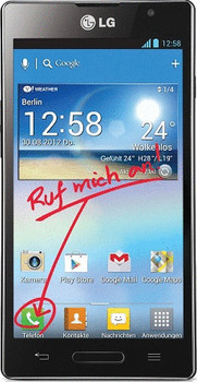 LG P760 Optimus L9 4GB zwart