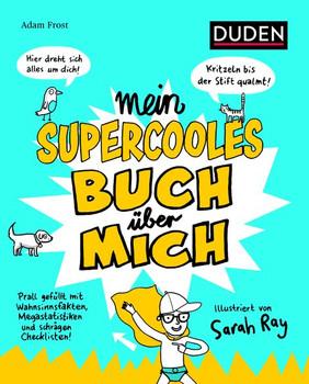 Mein supercooles Buch über mich - Adam Frost  [Taschenbuch]