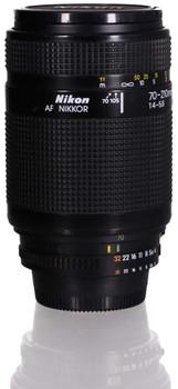 Nikon AF NIKKOR 70-210 mm F4.0-5.6 62 mm Obiettivo (compatible con Nikon F) nero