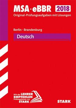 Original-Prüfungen MSA/eBBR - Deutsch - Berlin/Brandenburg [Taschenbuch]