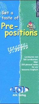 Get a taste of... prepositions - Oldham, Peter