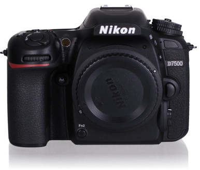 Nikon D7500 body zwart