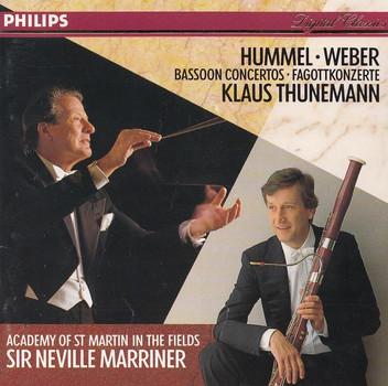 Klaus Thunemann, Academy of St Martin in the fields - Sir Neville Marriner: Carl Maria von Weber - Fagottkonzert
